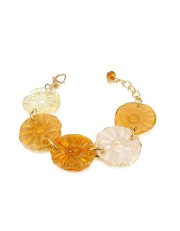 Antica Murrina Joy - Murano Glass Flower Bracelet