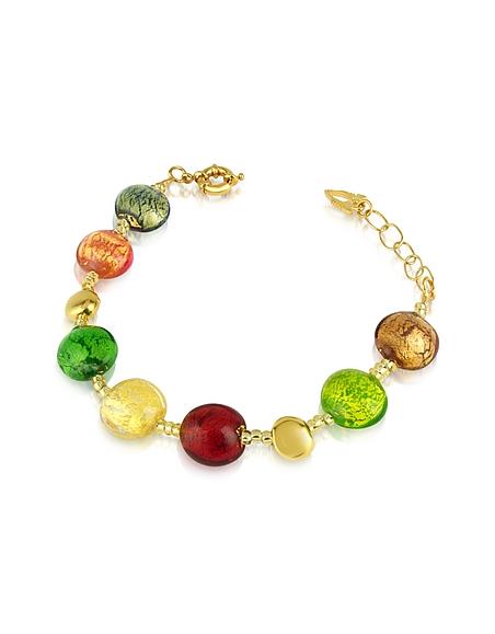 Antica Murrina Frida - Bracelet avec perles en verre de Murano