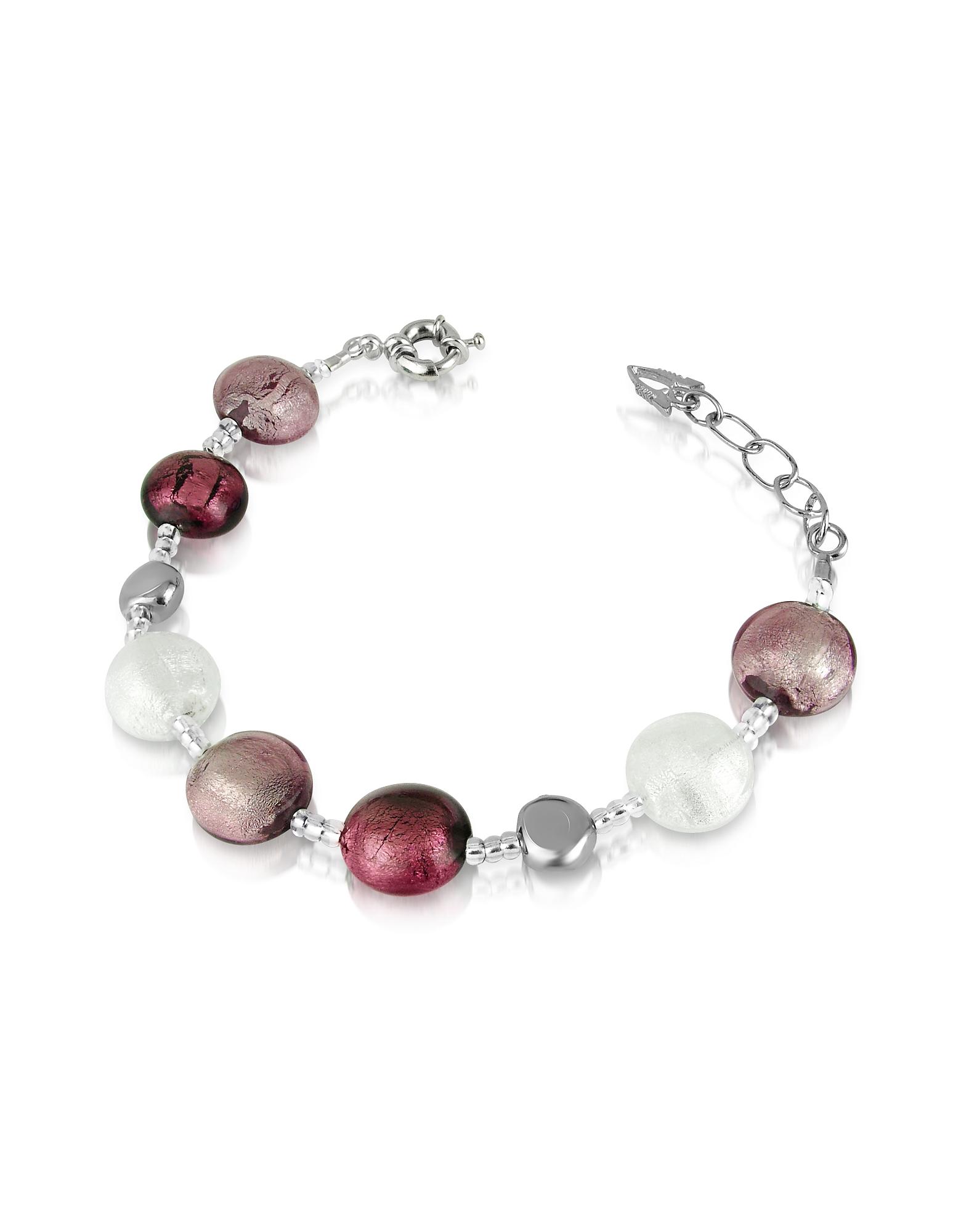 Image of Antica Murrina Designer Bracelets, Frida - Murano Glass Bead Bracelet