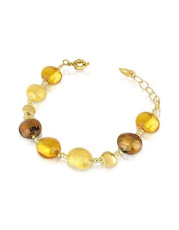 Lux-ID 208821 Frida - Murano Glass Bead Bracelet