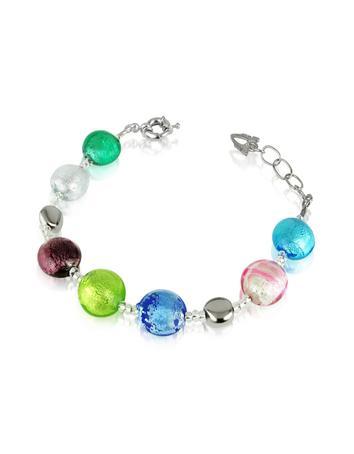 Lux-ID 208824 Frida - Murano Glass Bead Bracelet