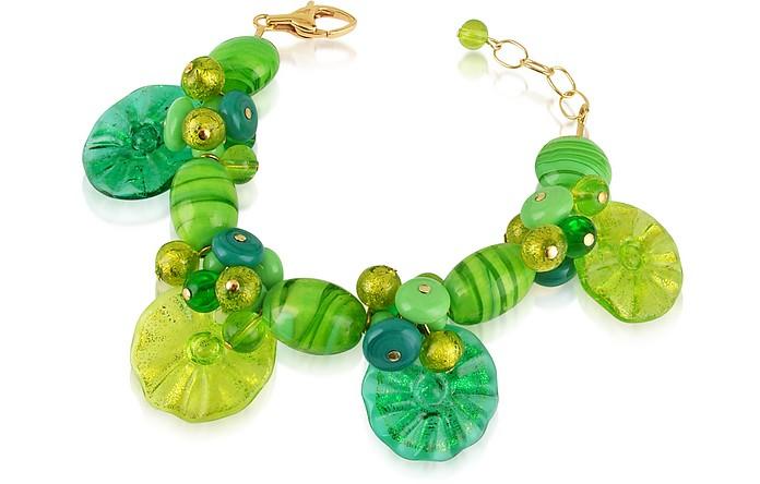 Encanto - Murano Glass Flower Bead Bracelet - Antica Murrina