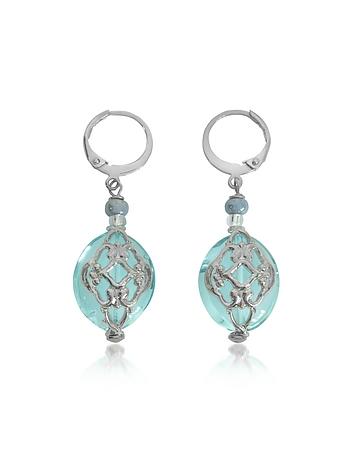Antica Murrina - Florinda Light Blue Murano Glass Earrings