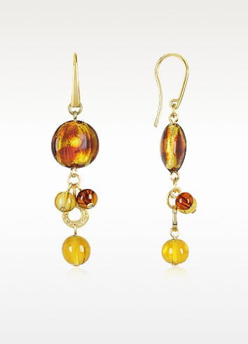 Celebrity - Murano Glass Drop Earrings - Antica Murrina
