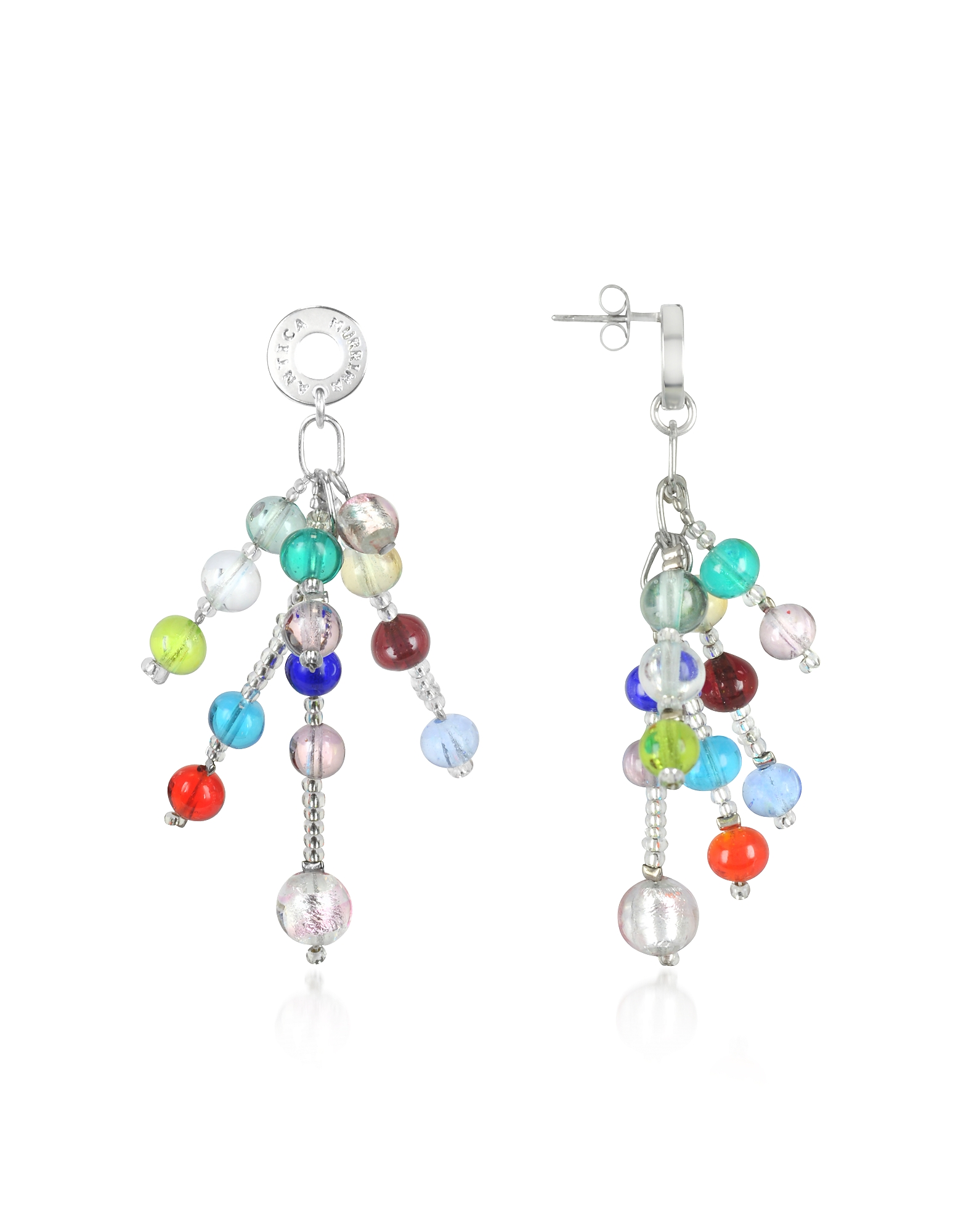 Antica Murrina Earrings, Prestige - Murano Glass Pearl Drop Earrings