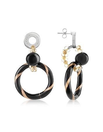 Antica Murrina - Bolero - Murano Glass Dangle Earrings