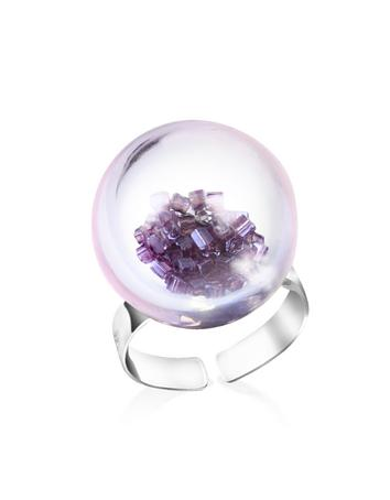 Antica Murrina Veneziana Shine - Ring aus Muranoglas