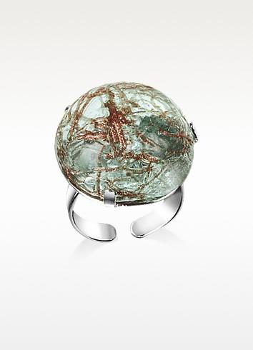 Graffiti - Murano Glass Ring - Antica Murrina