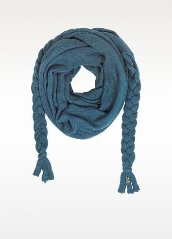 Wool Braided Long Scarf - Patrizia Pepe