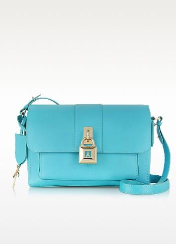 Leather Briefcase Shoulder Bag - Patrizia Pepe
