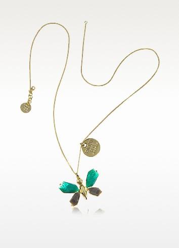 Precious Fly - Butterfly Long Necklace - Patrizia Pepe