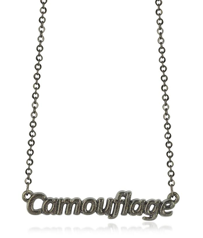 Camouflage - Женское Ожерелье Цвета Хаки - Patrizia Pepe