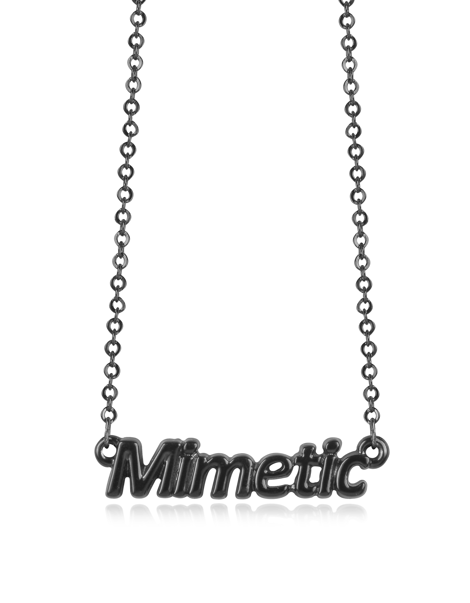 Patrizia Pepe Necklaces, Black 'Mimetic' Necklace