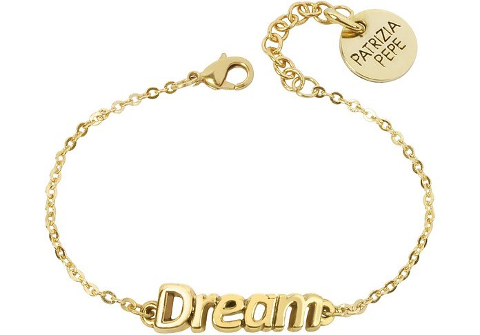 Gold Tone 'Dream' Bracelet - Patrizia Pepe