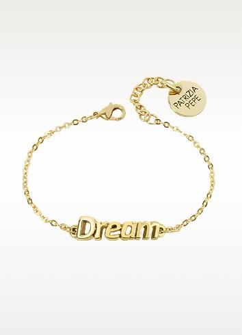 Gold Tone 'Dream' Bracelet - Patrizia Pepe