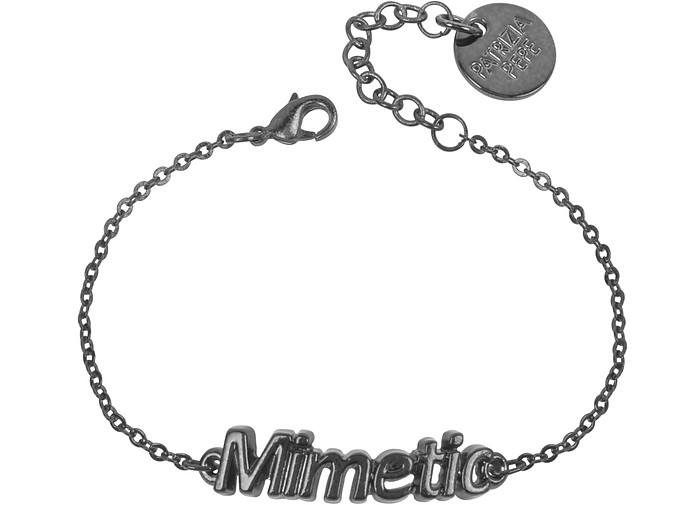 Black 'Mimetic' Bracelet - Patrizia Pepe