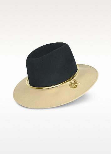 Women's Two Tone Wool Hat - Patrizia Pepe