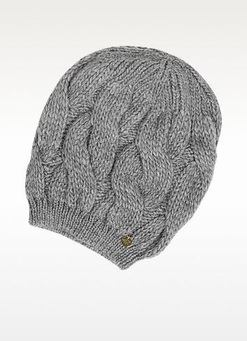 Knitted Wool Hat - Patrizia Pepe