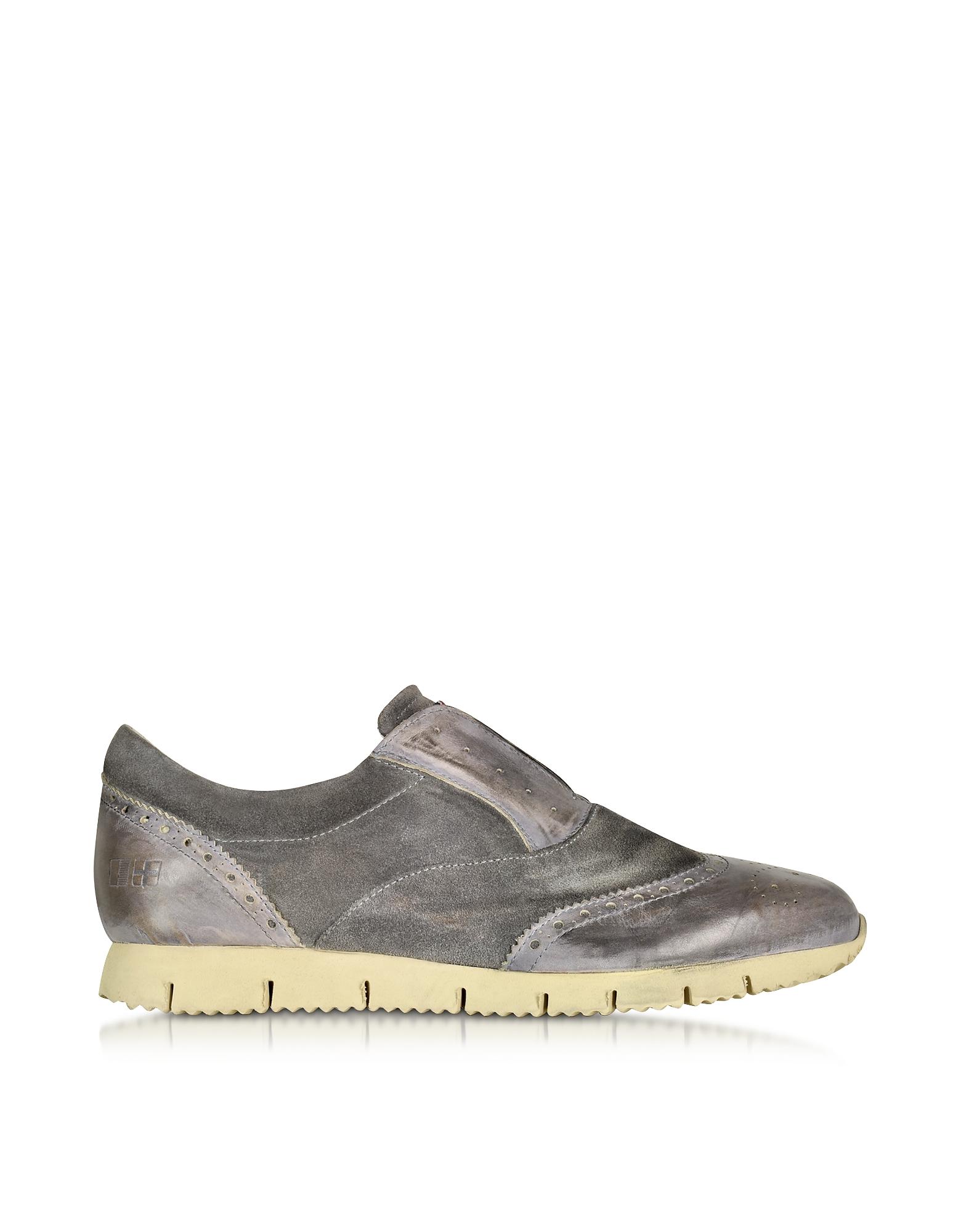 Raffaello - Темно-серые Кожаные Туфли