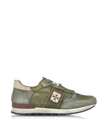olimpic-amalfi-green-leather-mens-sneaker