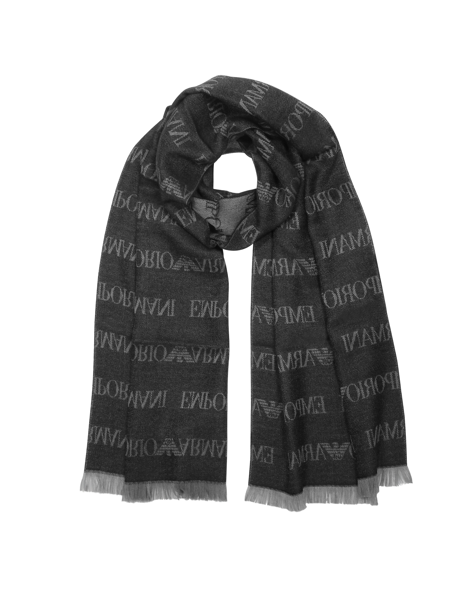 Pacific Wool Blend Signature Men's Scarf