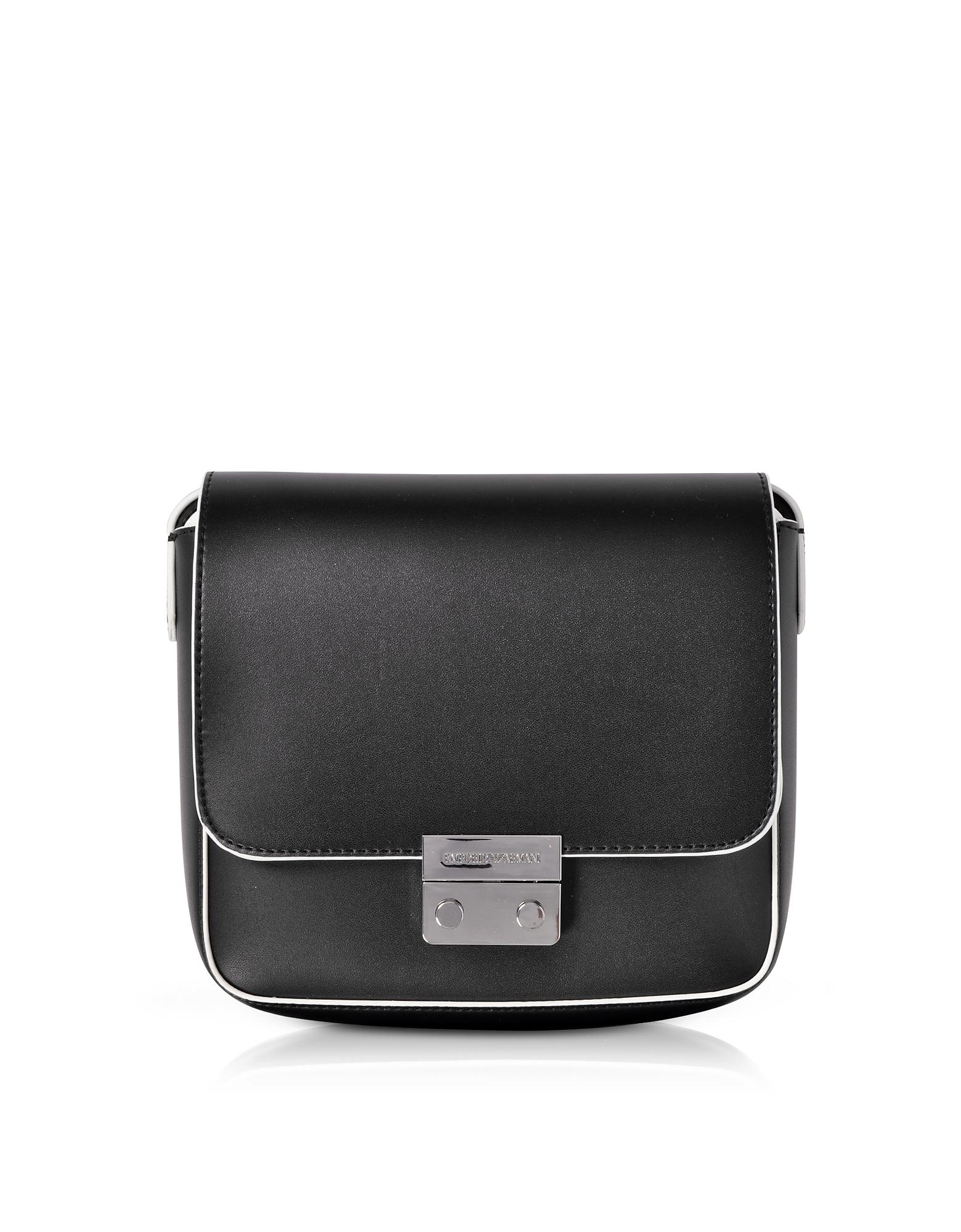 Emporio Armani Handbags, Mini Smooth Eco Leather Shoulder Bag