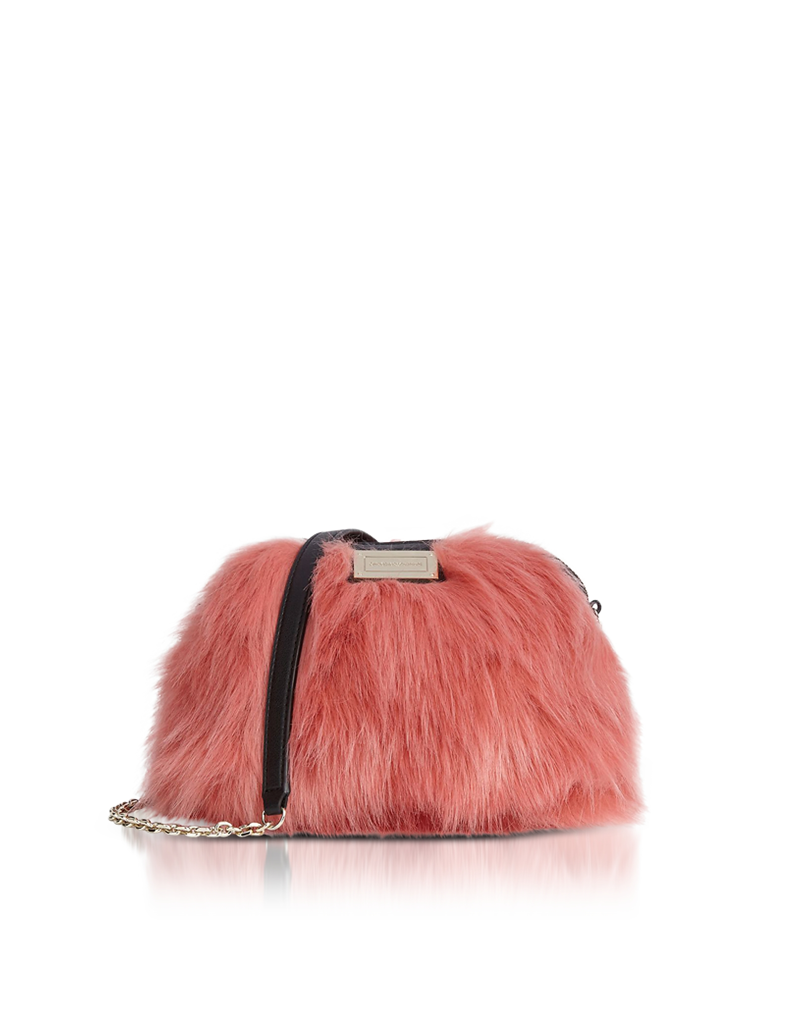 Emporio Armani Handbags, Eco-Fur Small Shoulder Bag