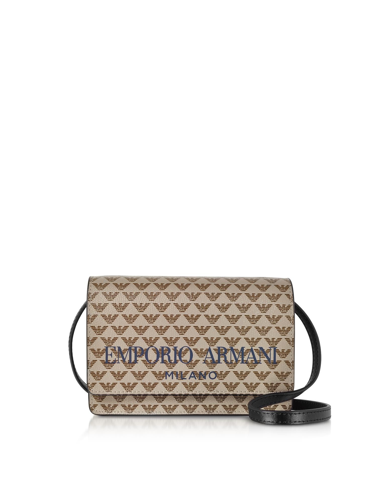 Two tone Flap Mini Shoulder Bag