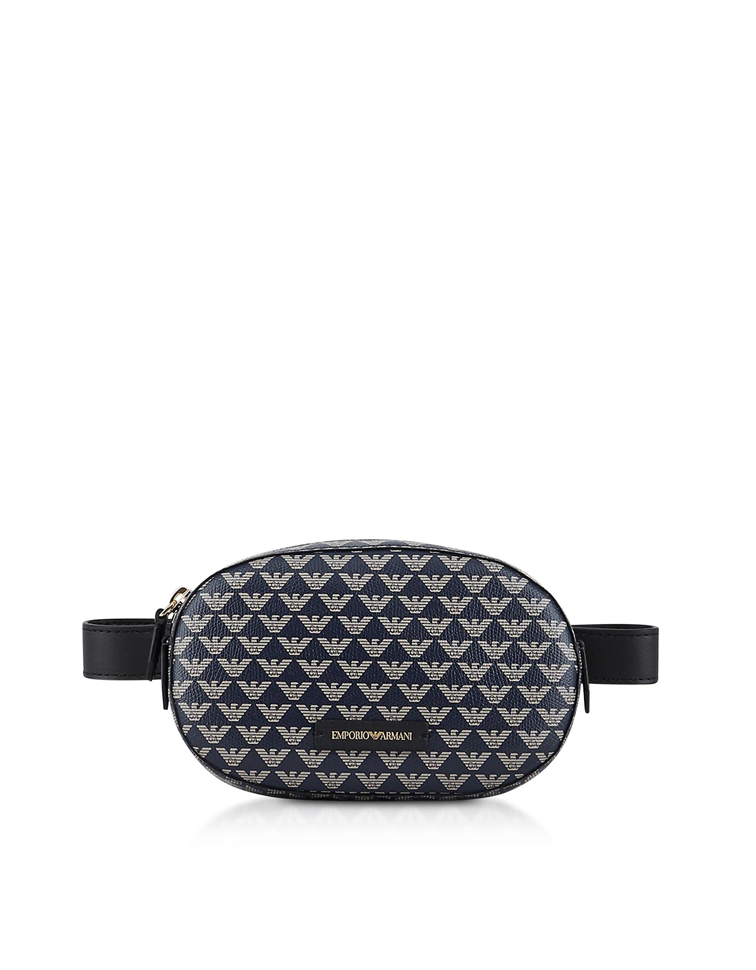 Color Block Signature Belt Bag
