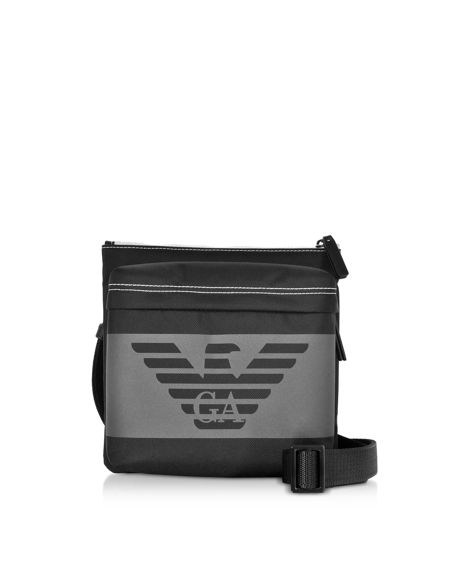 Black Men's Messenger Bag