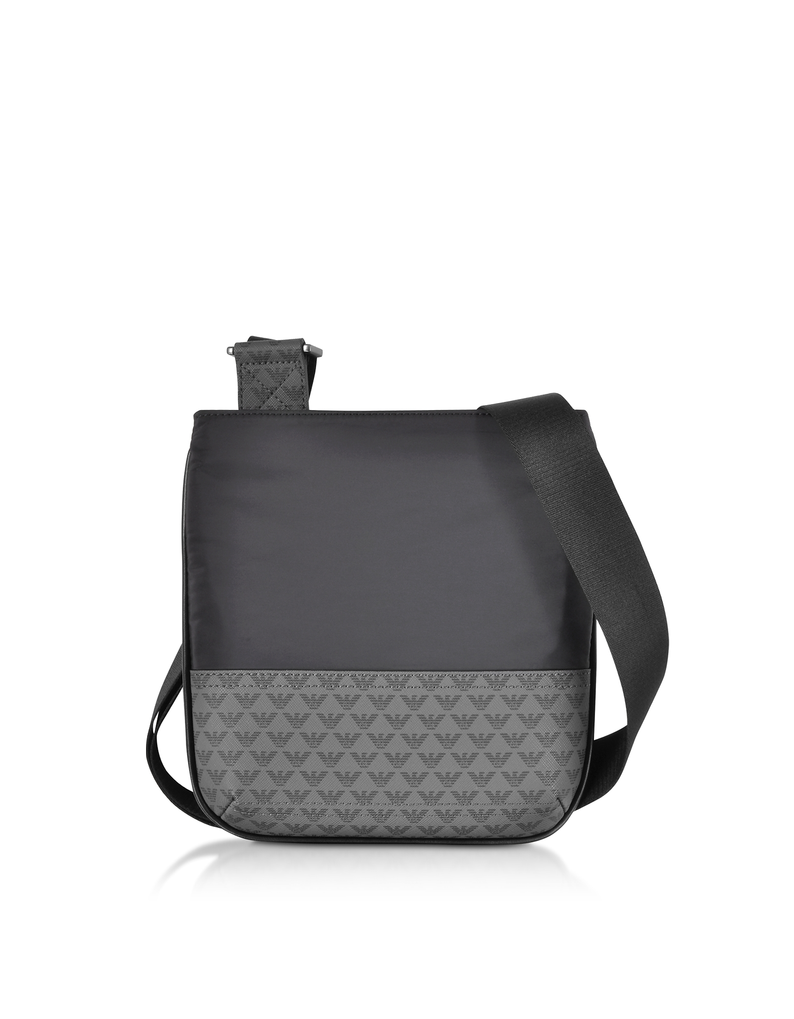 Two Tone Signature Men's Crossbody Bag
