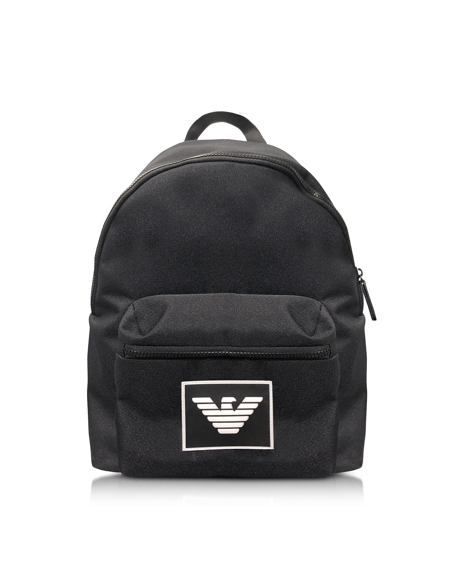 Signature Ribbon Backpack, Black