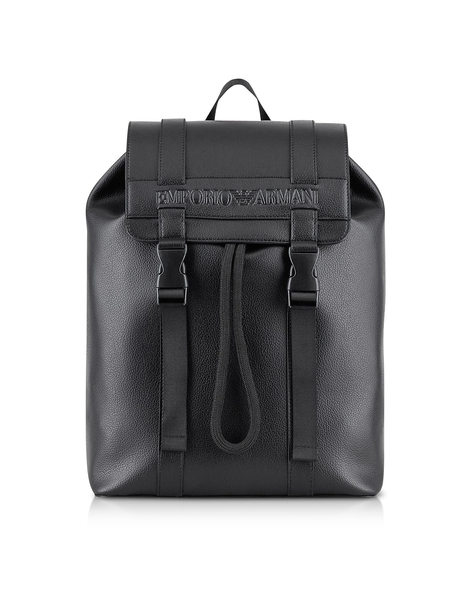 Black Pebble Signature Backpack