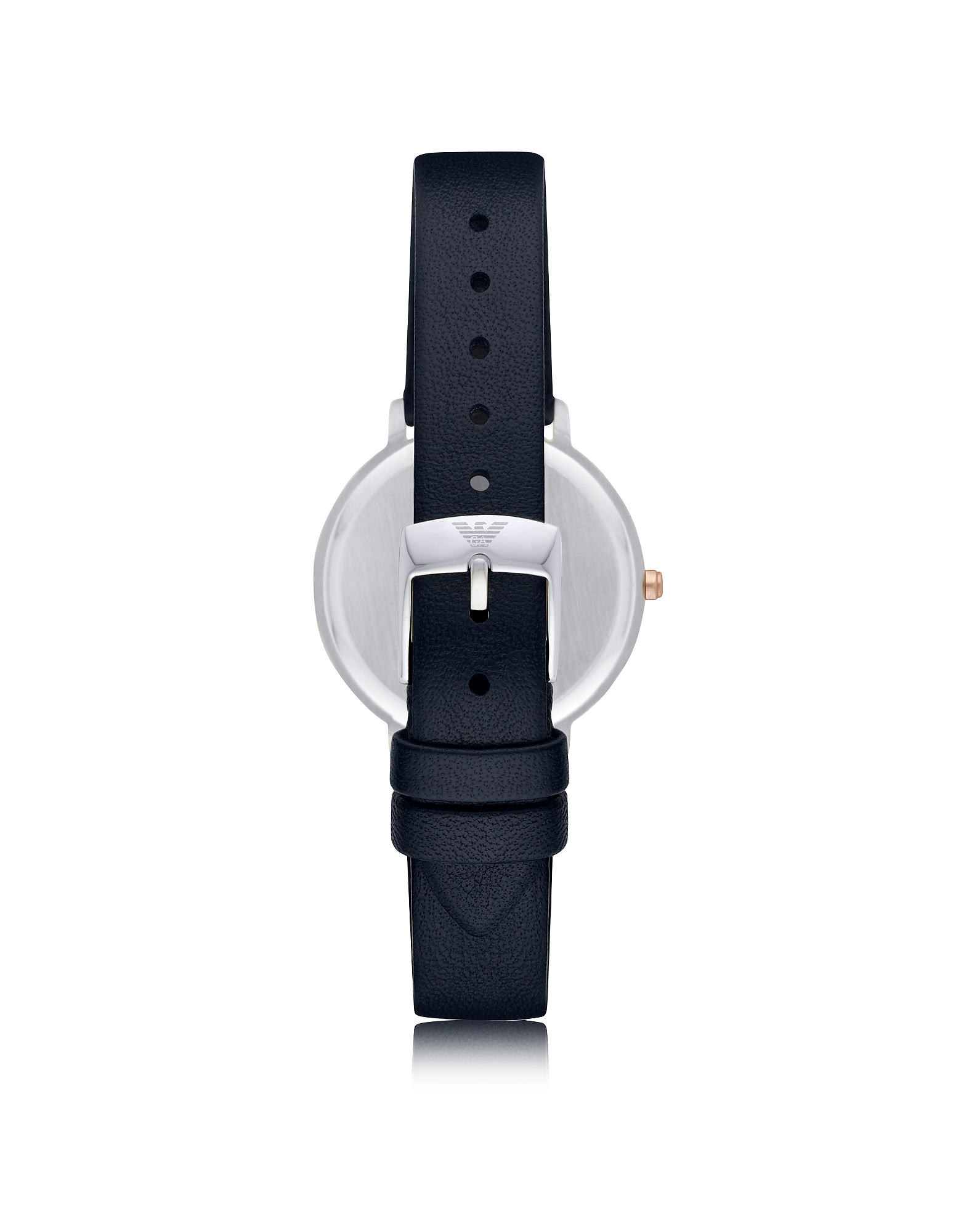 Kappa Stainless Steel Women's Quartz Watch w/Midnight Blue Leather Strap от Forzieri.com INT