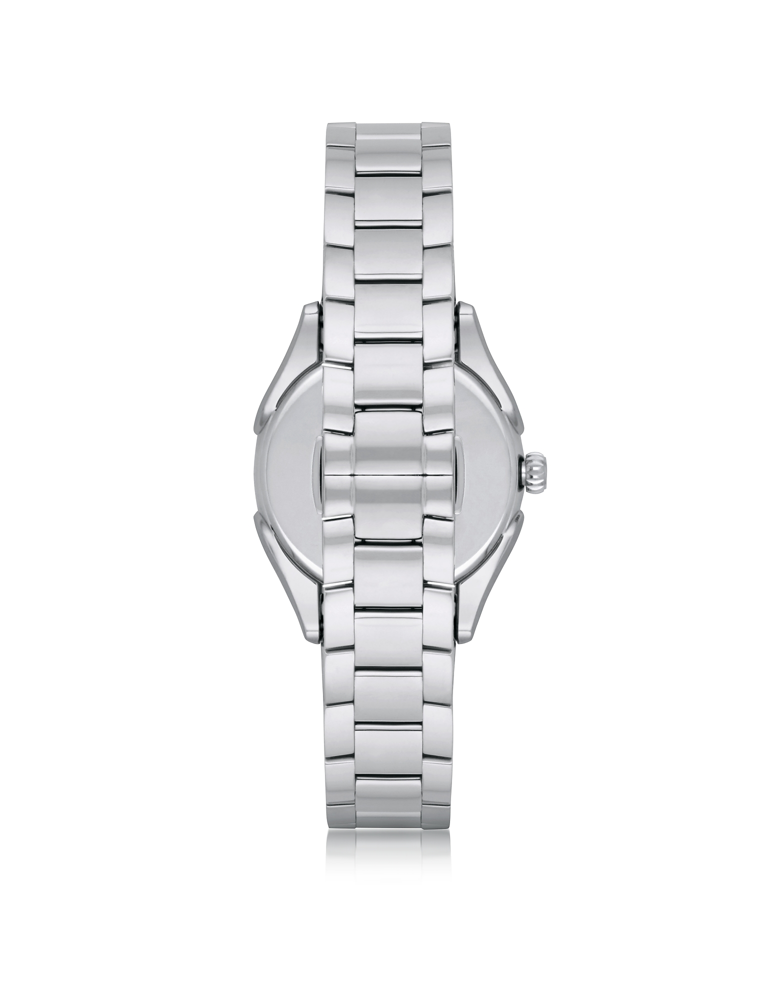 Stainless Steel Women's Quartz Watch w/Mother of Pearl Signature Dial от Forzieri.com INT