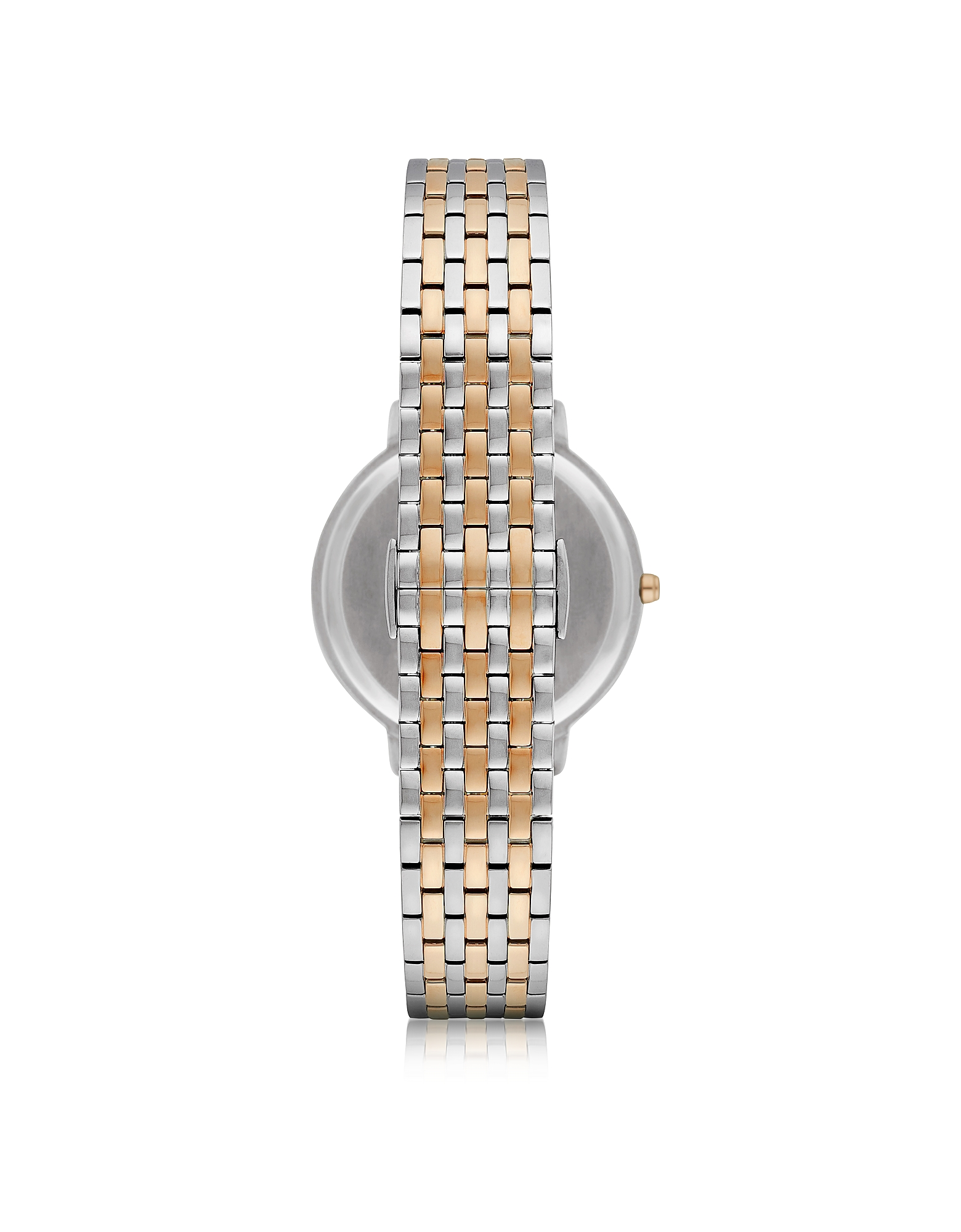 Kappa Two Tone Stainless Steel Women's Quartz Watch w/Mother of Pearl Dial от Forzieri.com INT