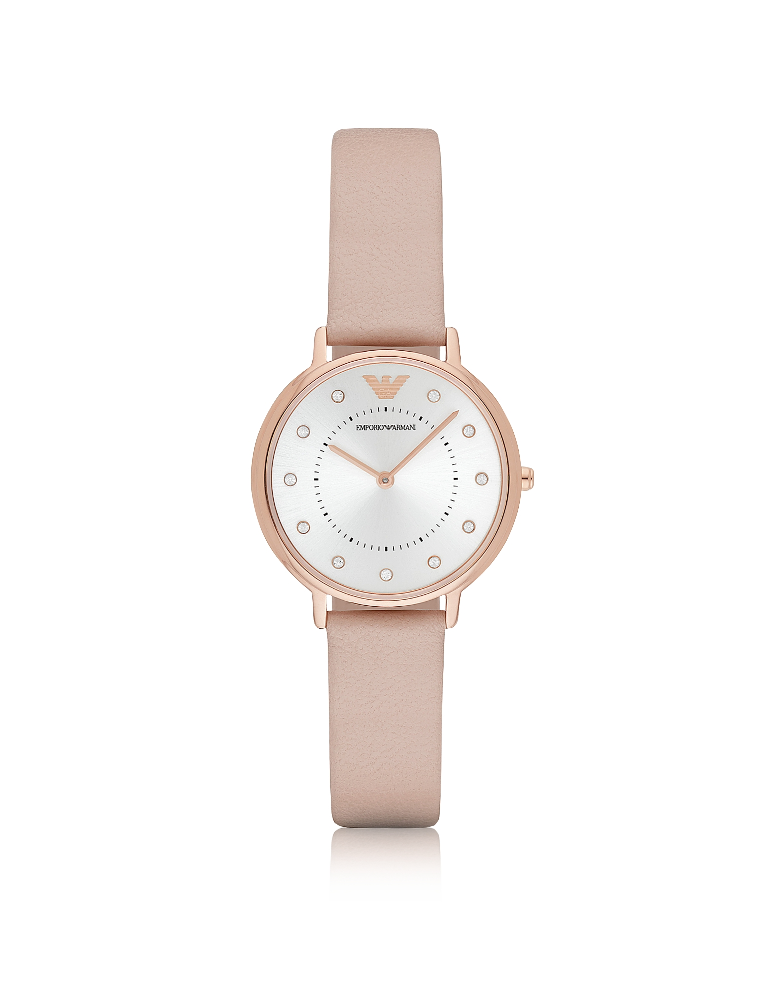 Emporio Armani Women's Watches, Kappa Rose Goldtone Stainless Steel Women's Watch