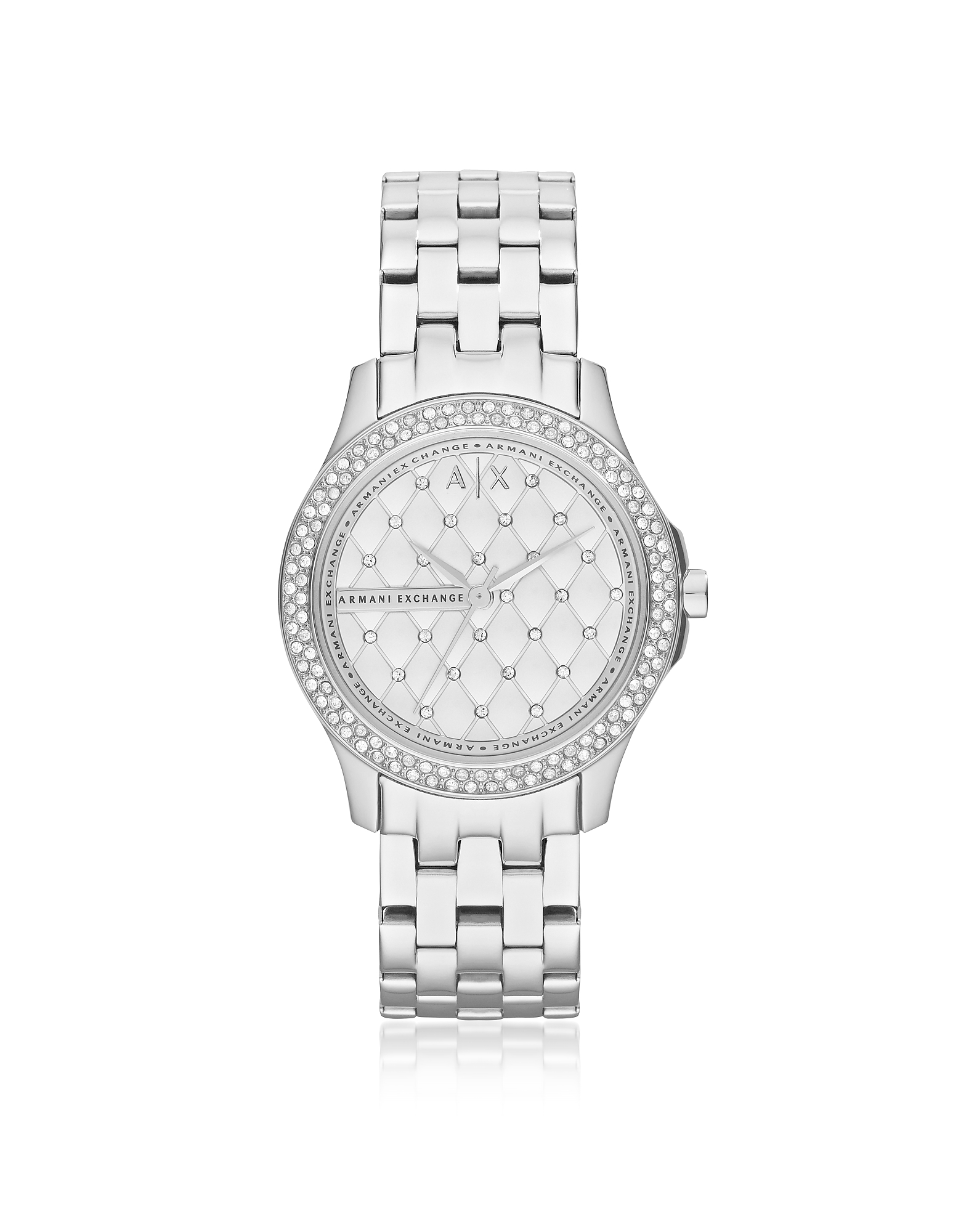 Armani Exchange Women's Watches, Lady Hampton Stainless Steel Women's Watch