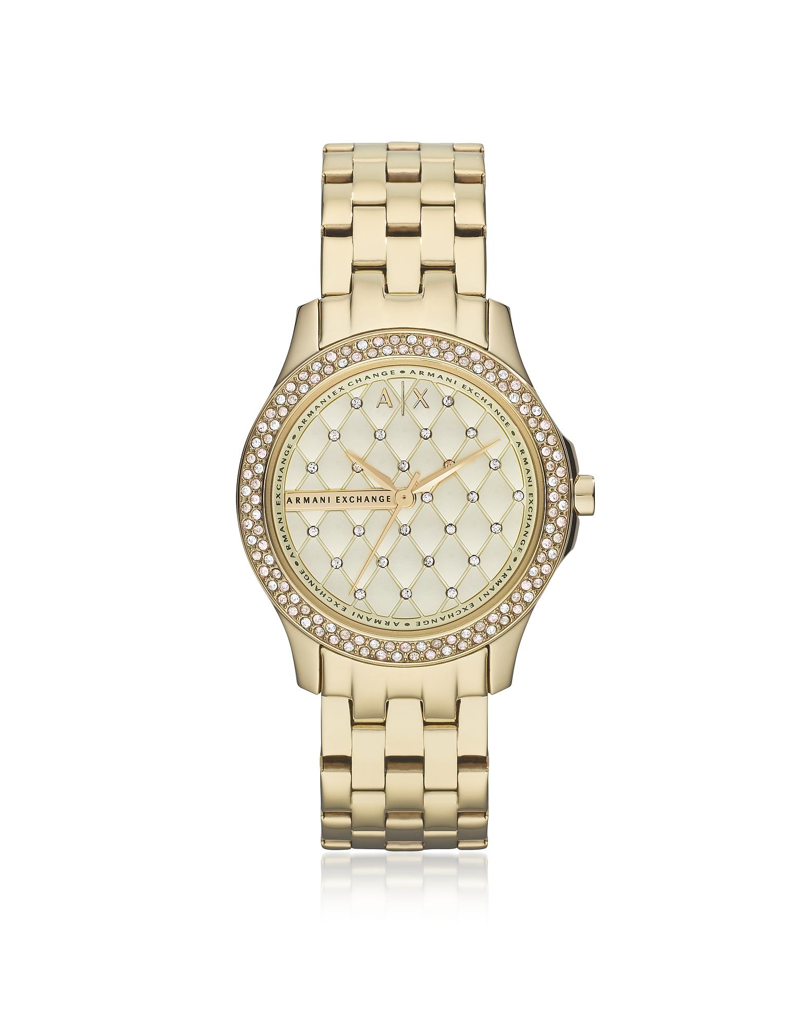 Lady Hampton Gold Tone Women's Watch