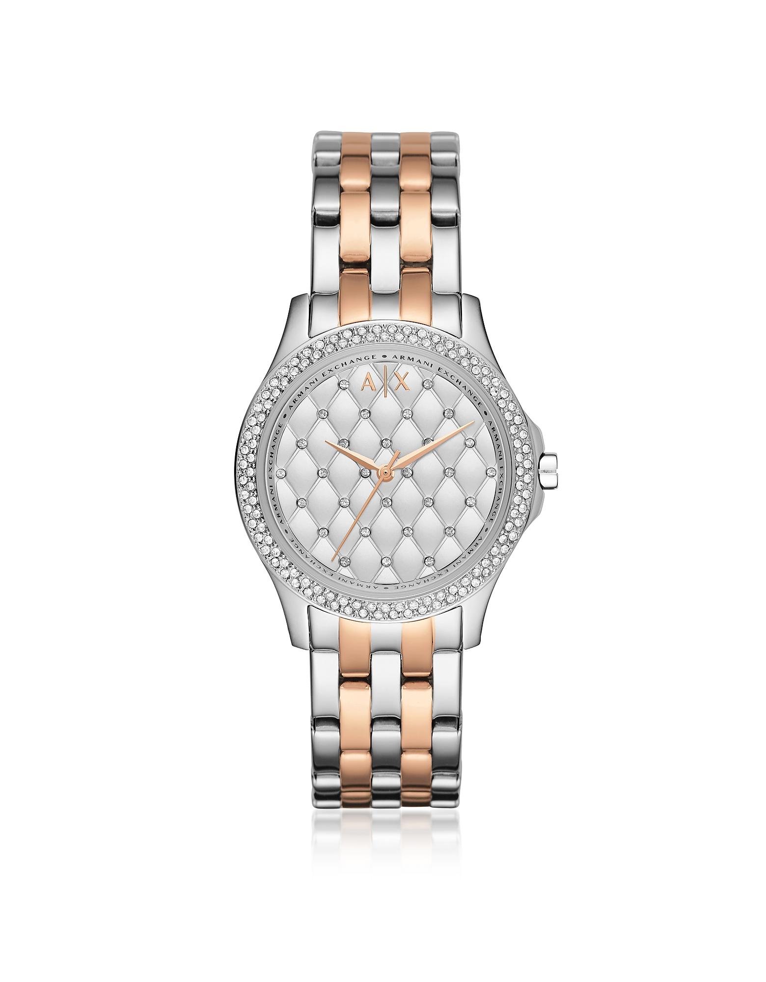 Armani Exchange Women's Watches, Lady Hampton Two Tone Women's Watch
