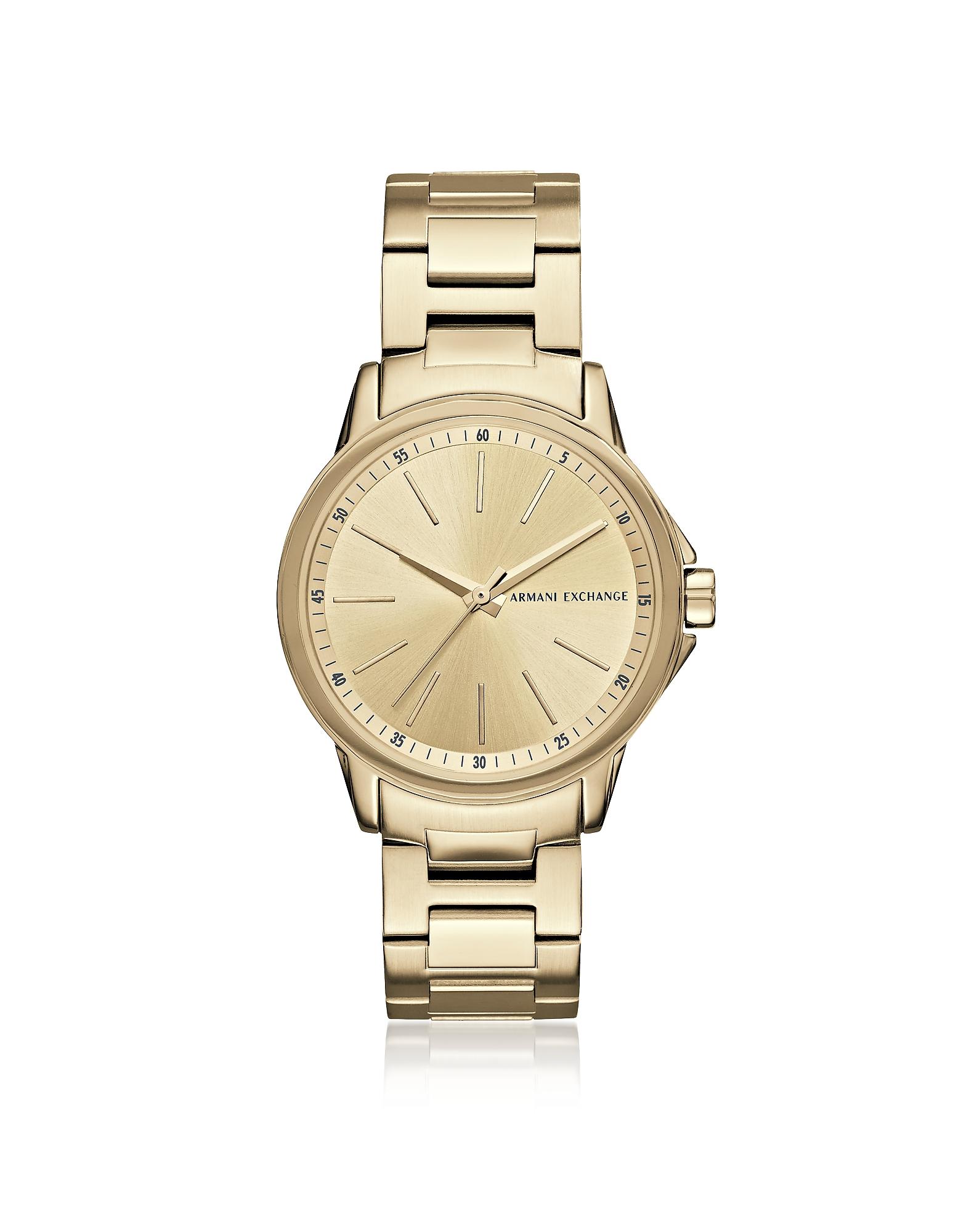 Armani Exchange Women's Watches, Lady Banks Gold PVD Women's Watch