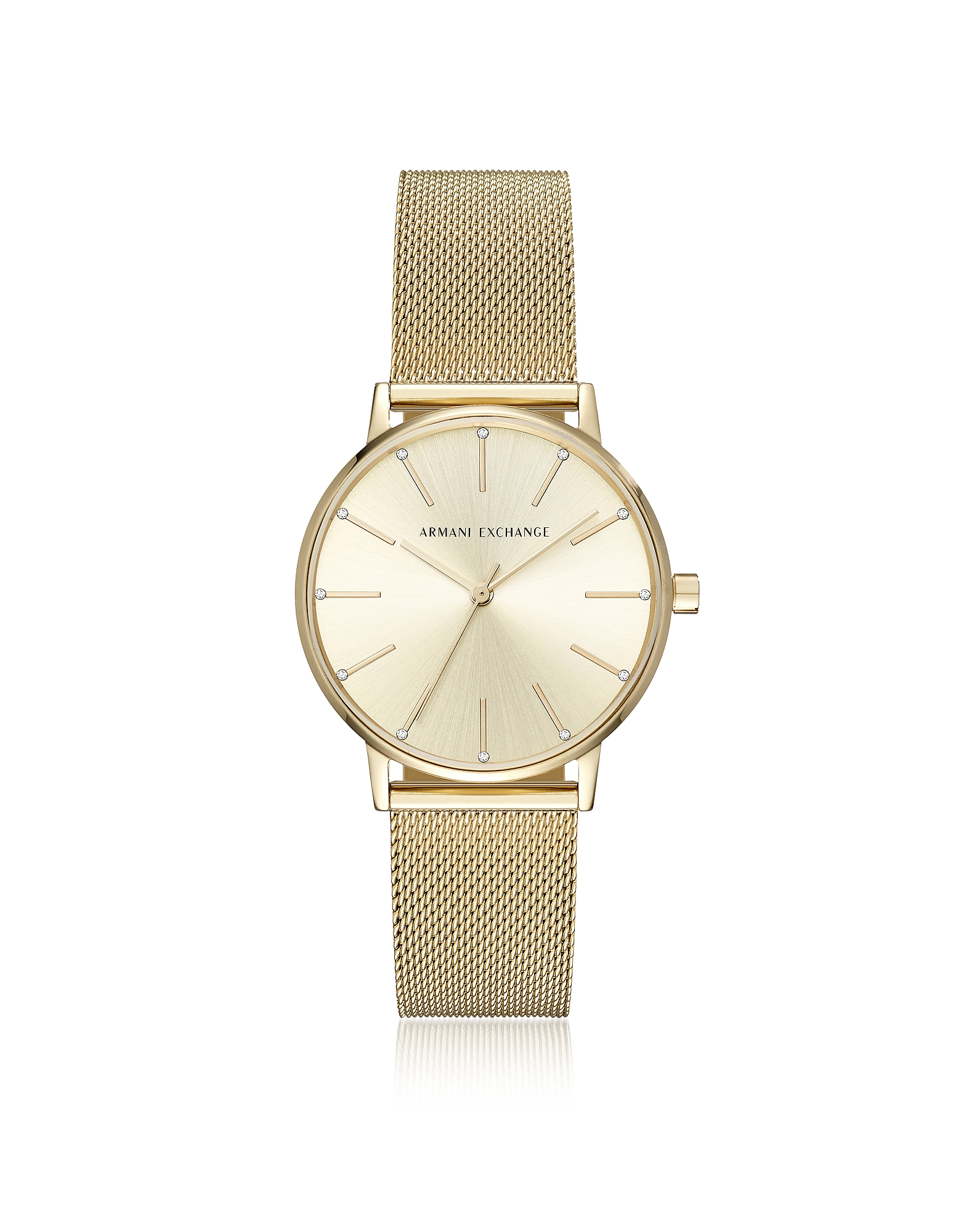 Armani Exchange Women's Watches, Lola Gold Tone Mesh Women's Watch