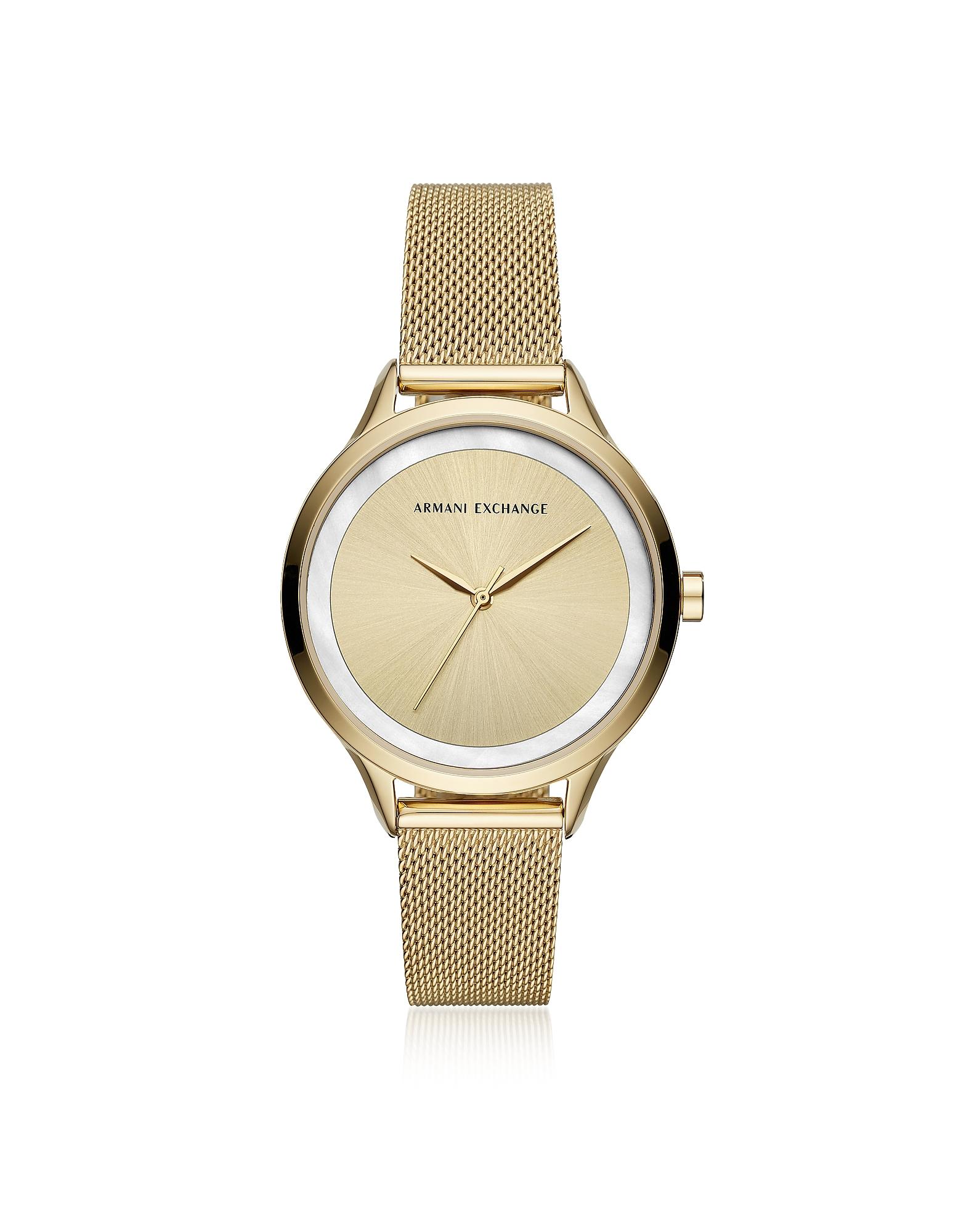 AIX Gold Tone Women's Watch,