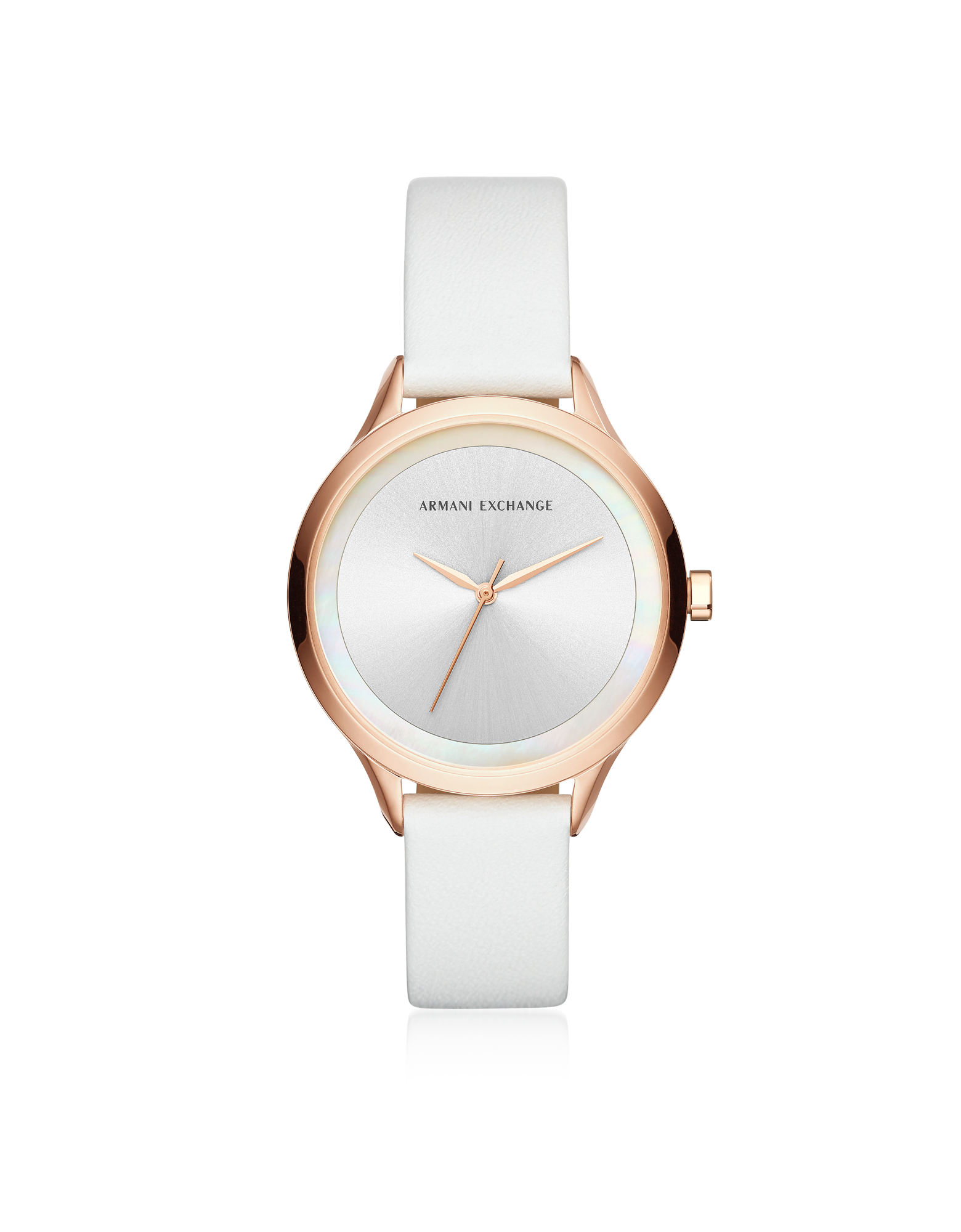 Image of AIX White and Rose Women's Watch