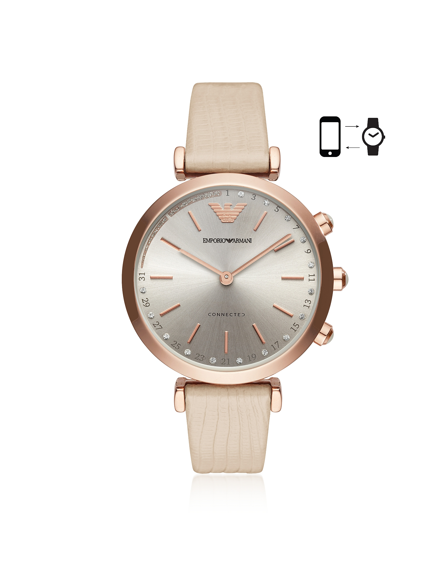 Emporio Armani Women's Watches, Emporio Armani Connected Women's Hybrid Smartwatch