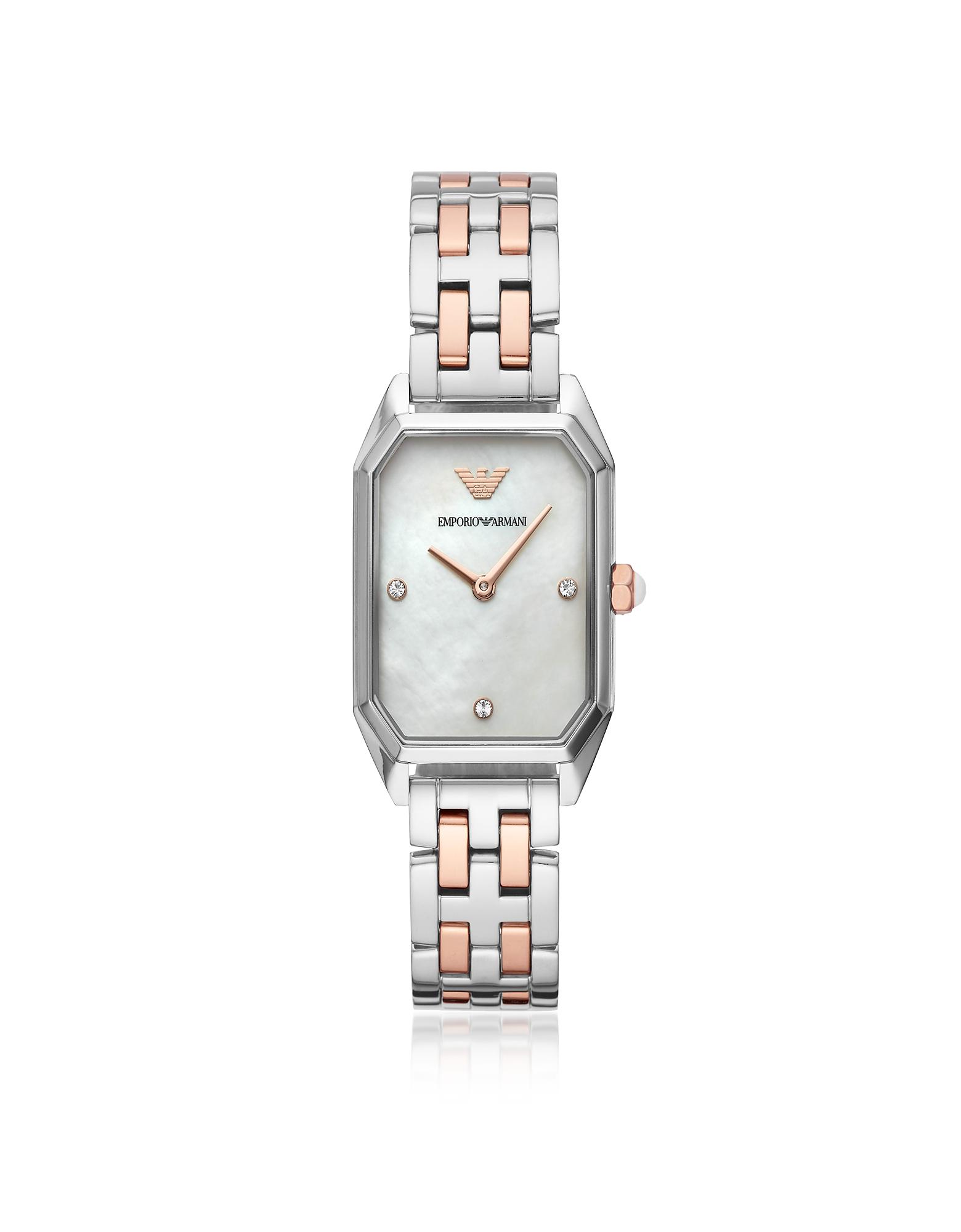 Emporio Armani Women's Watches, Gioia Two Tone Women's Watch