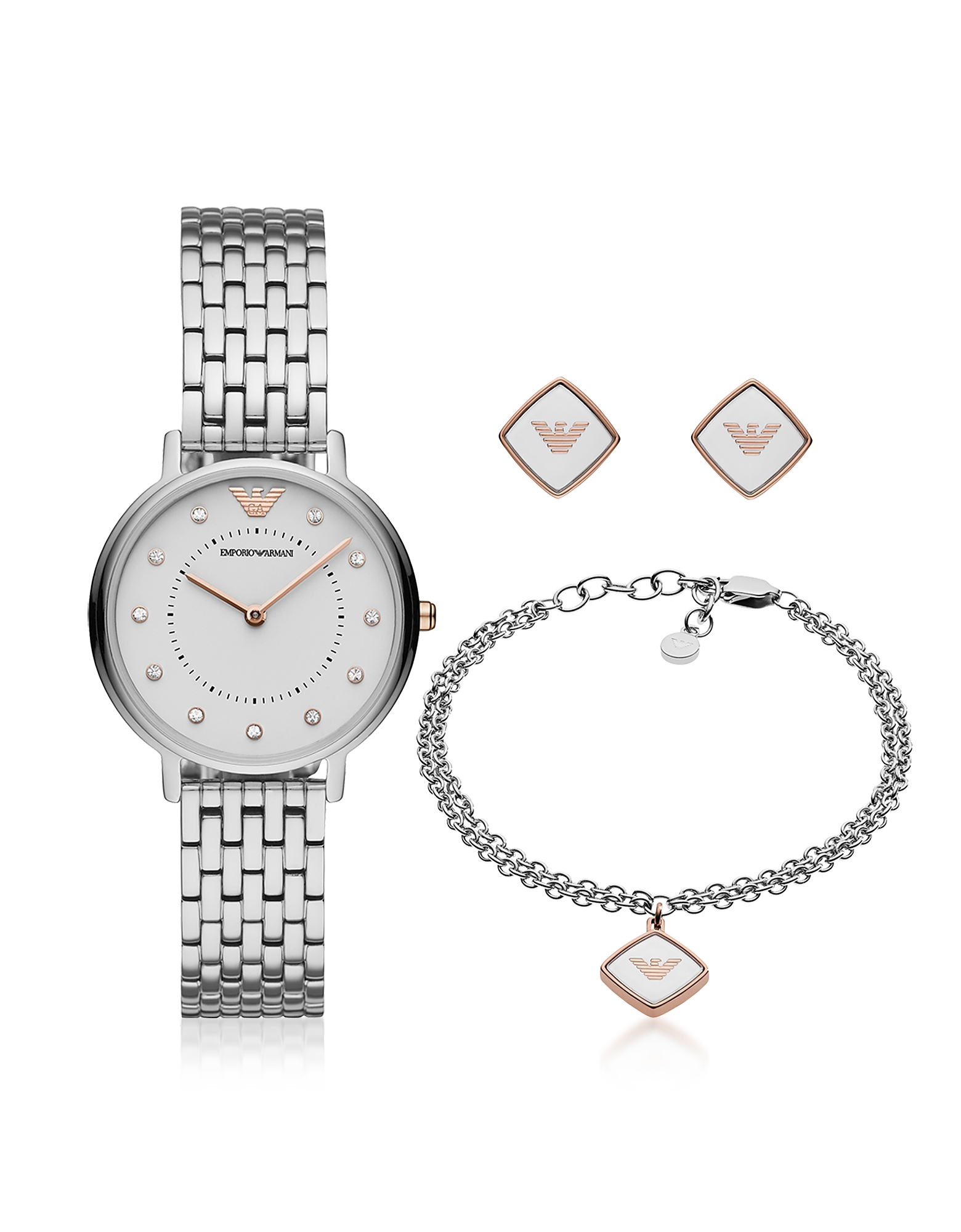 Kappa Stainless Steel Watch Set
