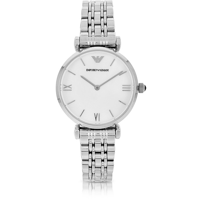 Stainless Steel Women's Watch - Emporio Armani