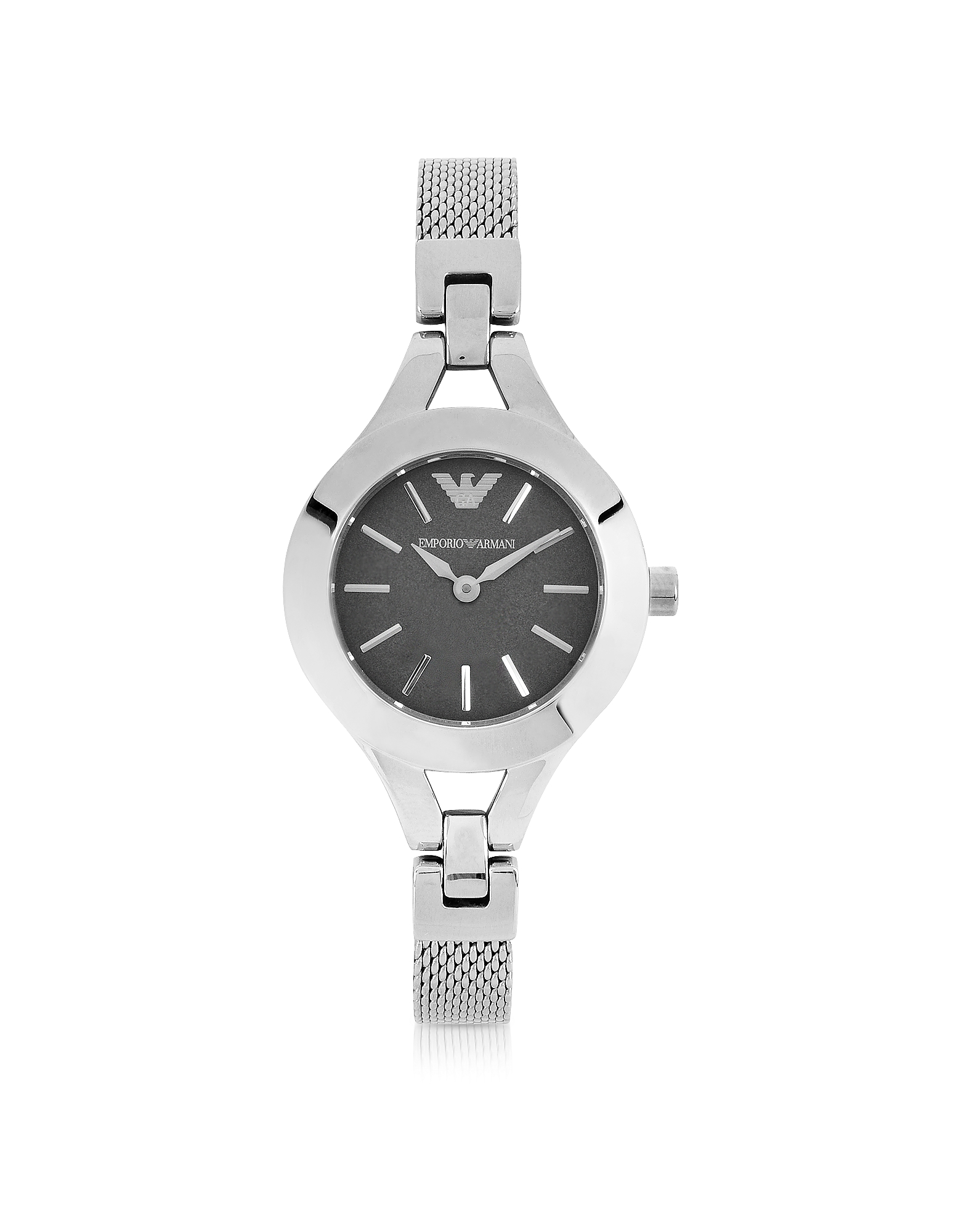 Emporio Armani Women's Watches, Women's Classic Stainless Steel Mesh Bracelet Watch