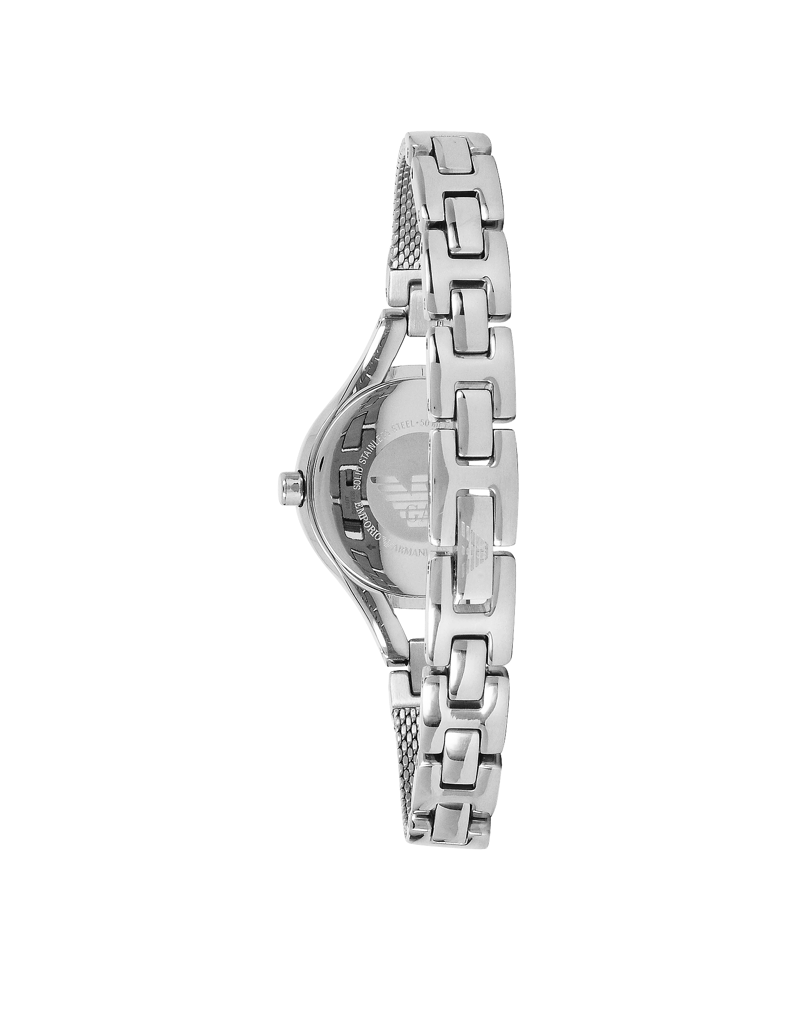 Women's Classic Stainless Steel Mesh Bracelet Watch от Forzieri.com INT